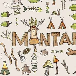 Montana boys - beige