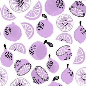 Summer Citrus - Lavender by Andrea Lauren