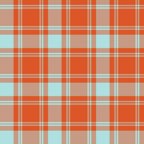 MacQuarrie tartan - weathered colors