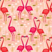 Flamingo - Pastel Pink