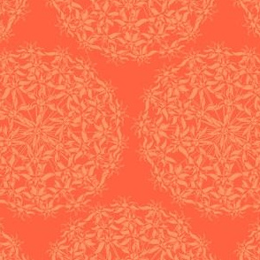 Allium Hex Orange on Orange