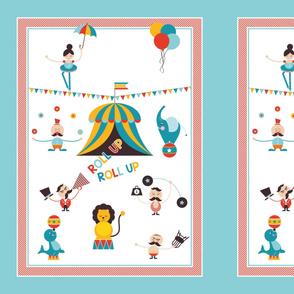 Baby Tom's Circus-Stroller Blanket