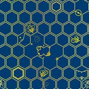 The bees are disappearing. (Gallifreyan)
