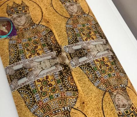 Byzantine Empress Zoe Mosaic - Giftwrap width