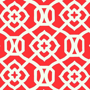Moroccan_Lattice-_Red___white
