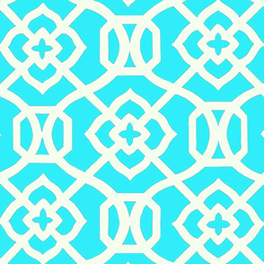 Moroccan_Lattice-_Turquois_and_white