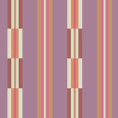 Smooth and broken multistripes, terracotta hues