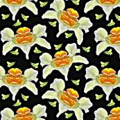 Fantasy Orchids and Green Mason Bees