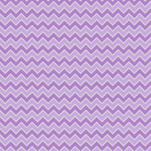 Chevron violet