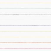 Rainbow Stripes by Friztin