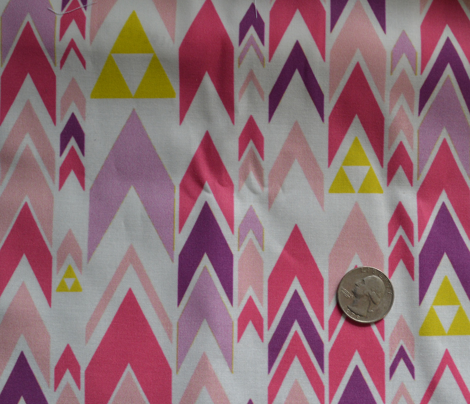 Triforce Triangles in Pink