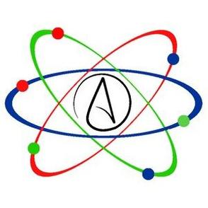 Atheism Atomic Symbol