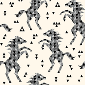 Horse triangles