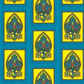 TALAVERA FLOWER TURQUOISE