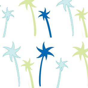 Lagoon palms - Large