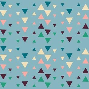 3 shades of fabric blue