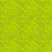 linoblock_leaves_monochromatic_green