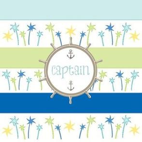 Anchors Lagoon Stripes-Captain