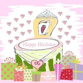 Lovely Princess Gifts -  Happy Birthday petal
