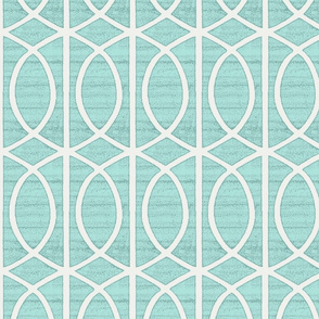 Regalia Geometric Spa Blue