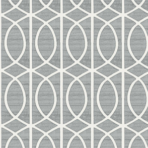 Regalia Geometric Ash Grey