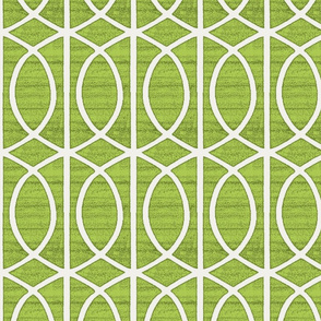 Regalia Geometric Lime