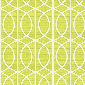 Regalia Geometric Chartreuse