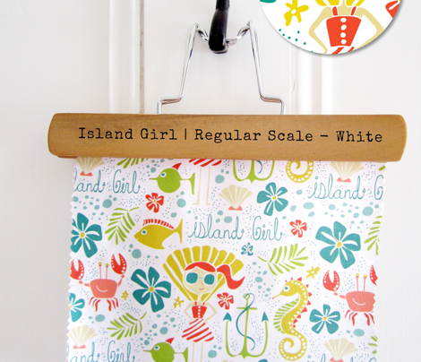 Island Girl White - Regular Scale