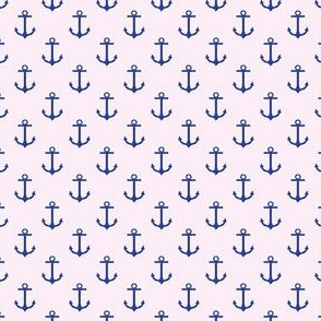 Preppy Anchor Pink
