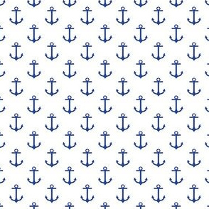 Preppy Anchor White