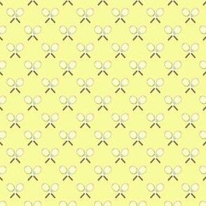 Preppy Racquet Yellow