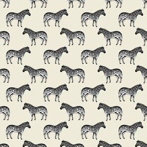 Preppy Zebra Cream