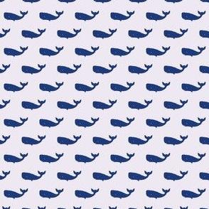 Preppy Whale Lilac
