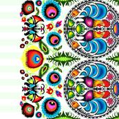 Wycinanka_003_Border_Print_Green_Stripes