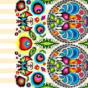 Wycinanka_003_Border_Print_Orange_Stripes