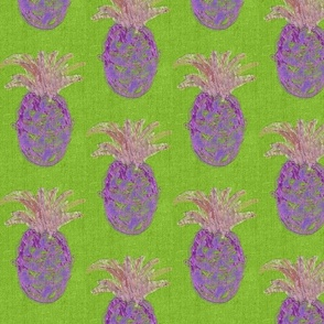 pineapples green