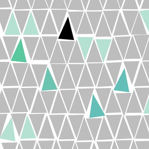 Minty Aztec triangles