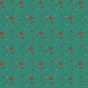 Dark Teal Dots