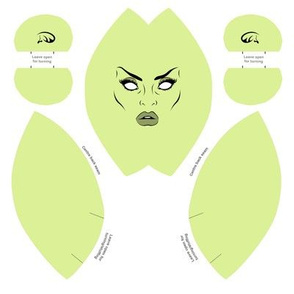 Bride Of Frankenstein Doll Head