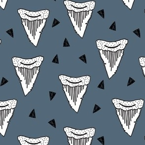 Shark Tooth Tri - Paynes Gray by Andrea Lauren