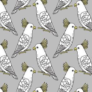 Cockatoo - Slate by Andrea Lauren