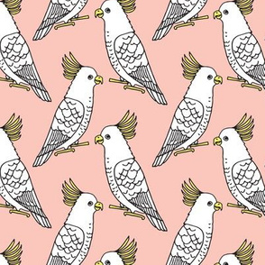Cockatoo - Pale Pink by Andrea Lauren
