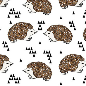 Geo Hedgehog - Brown by Andrea Lauren