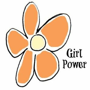 Girl Power -orange crush