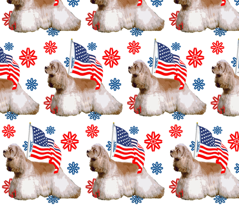 cocker_spaniel_with_flag