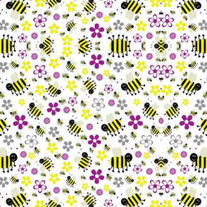 Bumble bee swirls