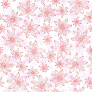 lifework flowers - coral and pink