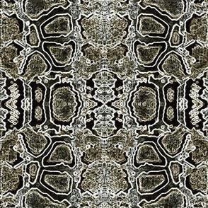 snake skin montage-taupe