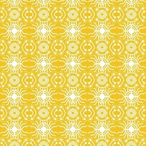 Bright Sun Star Gold White