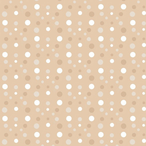 Flowing dots